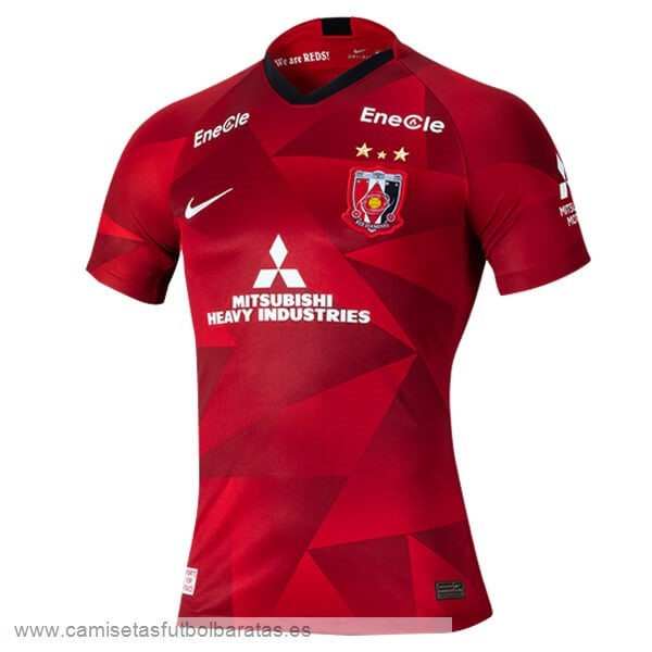 Comprar Equipaciones Casa Camiseta Urawa Red Diamonds 2020 2021 Rojo