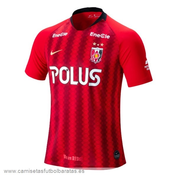 Comprar Equipaciones Casa Camiseta Urawa Red Diamonds 2019 2020 Rojo